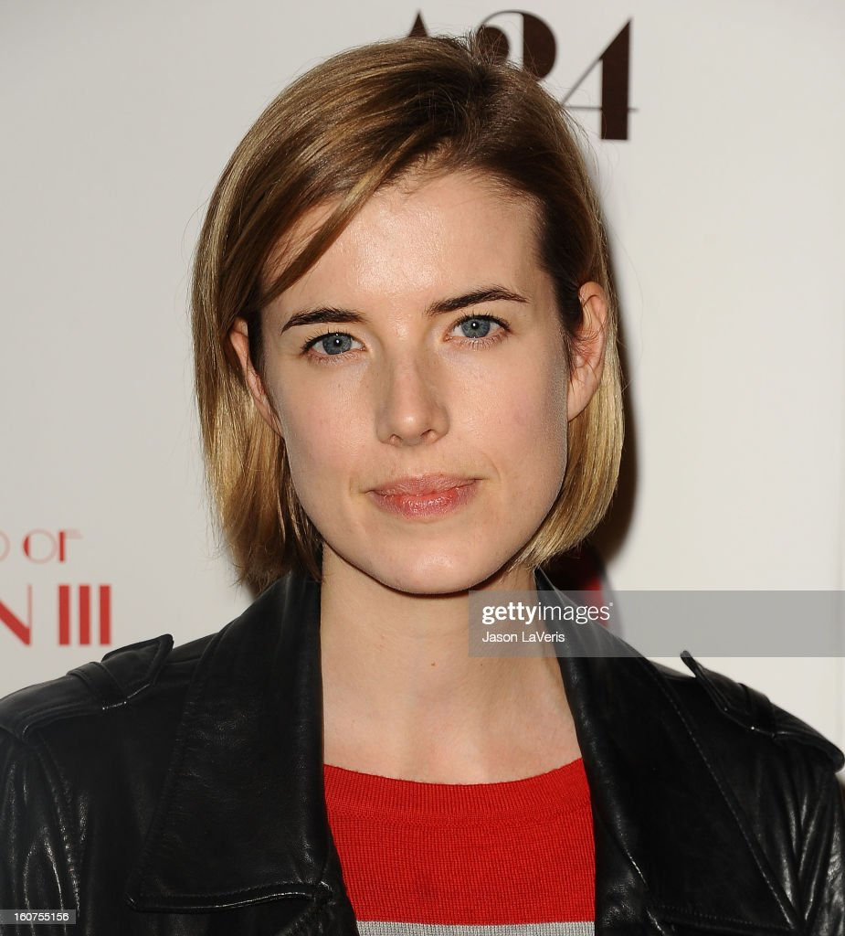 Agyness Deyn attends the premiere of 'A Glimpse Inside The Mind Of Charlie Swan III' at ArcLight Hollywood on February 4, 2013 in Hollywood, California.