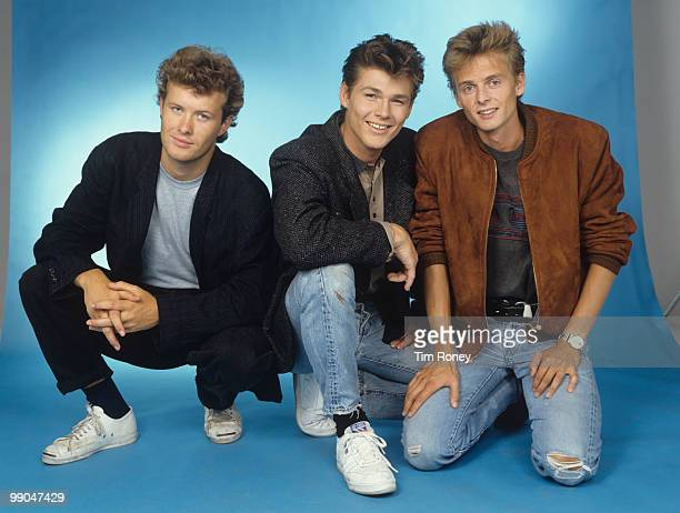 Aha pop group circa 1984