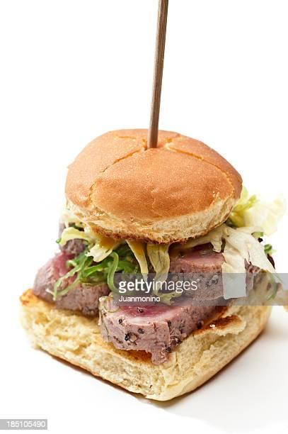 Ahi Tuna mini burger