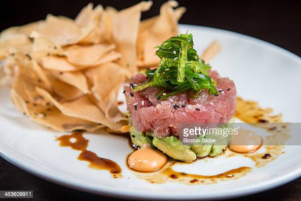 Ahi tuna tartare at Stephi's in Southie in South Boston