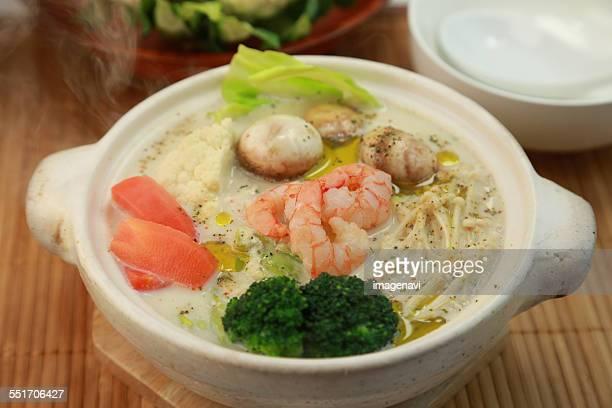 Ahijo style soy milk pot