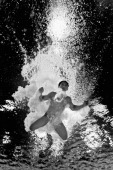 Ahmad Amsyar Azman of Malaysia competes in the Men's 3m Springboard Final at Royal Commonwealth Pool during day eight of the Glasgow 2014...