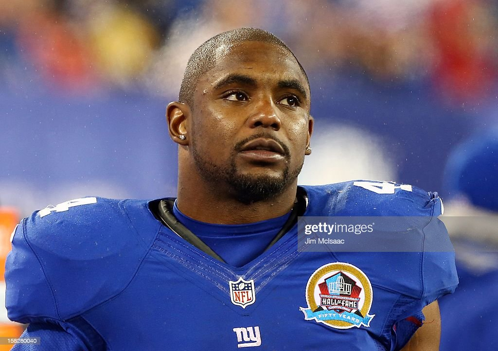 <a gi-track='captionPersonalityLinkClicked' href=/galleries/search?phrase=Ahmad+Bradshaw&family=editorial&specificpeople=2557220 ng-click='$event.stopPropagation()'>Ahmad Bradshaw</a> #44 of the New York Giants in action against the New Orleans Saints at MetLife Stadium on December 9, 2012 in East Rutherford, New Jersey. The Giants defeated the Saints 52-27.