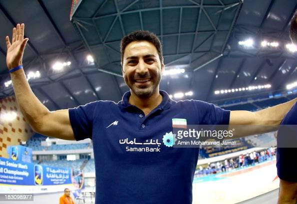 Ahmad Masajedi during 17th Asian Men's Volleyball Championship between Iran And Lebanon on October 4 2013 in Dubai United Arab Emirates
