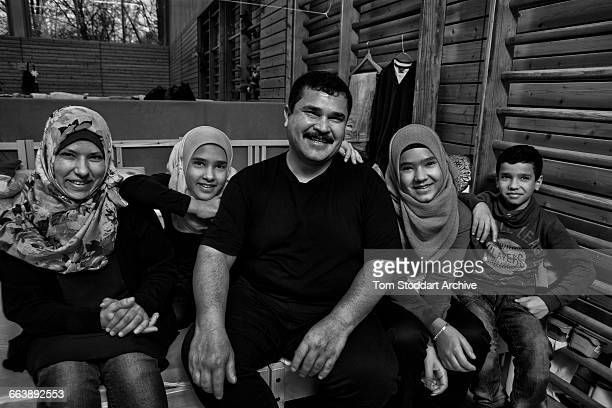 Ahmed Al Adel an Iraqi baker aged 43 his wife Jinan daughters Fudaa and Fatma and son Abdo 10 After fleeing Baghdad the family spent almost a year...