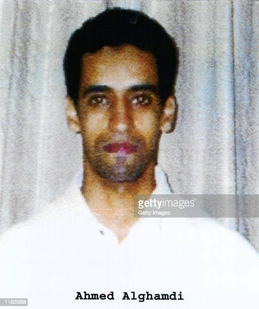 Ahmed Alghamdi one of the suspected hijackers of United Airlines that crashed into World Trade Center in New York on September 11 2001 during a...