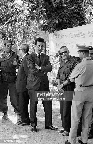 Ahmed Ben Bella a few days after the proclamation of the independence of Algeria on July 16 1962 in Algiers Algeria
