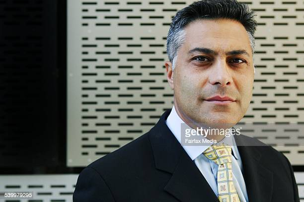 Ahmed Fahour CEO of National Australia Bank outside their Docklands HQ 18 January 2006 AFR Picture by JESSICA SHAPIRO