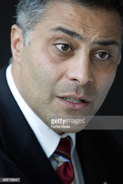 Ahmed Fahour CEO of the National Australia Bank at the CEDA luncheon 29 September 2005 AFR Picture by JESSICA SHAPIRO