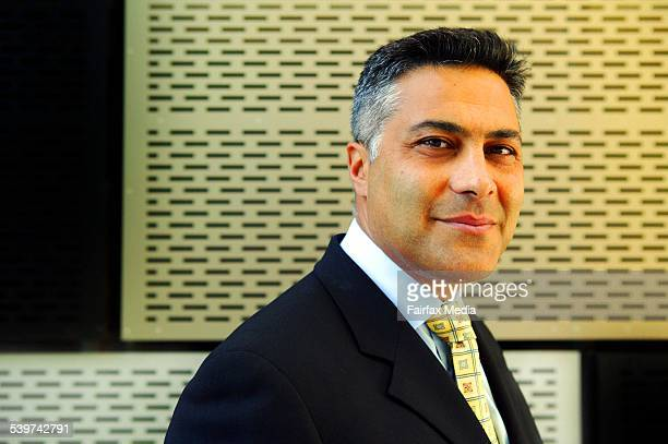 Ahmed Fahour chief executive of National Australia Bank outside their Docklands HQ 18 January 2006 AFR Picture by JESSICA SHAPIRO