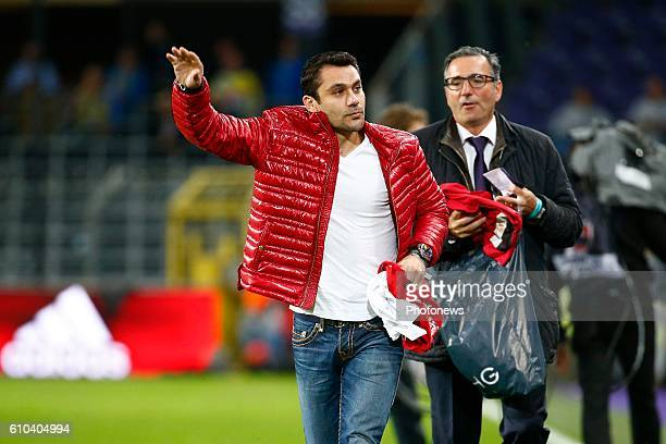 Ahmed Hassan pictured during Jupiler Pro League match between RSC Anderlecht and KVC Westerlo on september 25 2016 in Brussels Belgium