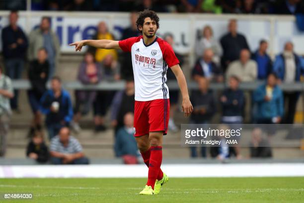 Ahmed Hegazi of West Bromwich Albion during the Pre Season Friendly match between Bristol Rovers and West Bromwich Albion at Memorial Stadium on July...
