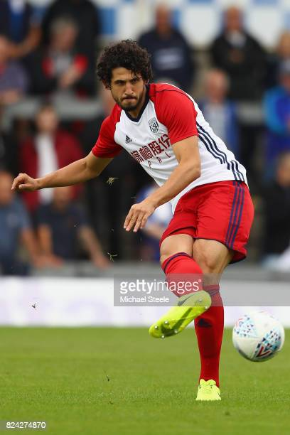 Ahmed Hegazi of West Bromwich Albion during the pre season match between Bristol Rovers and West Bromwich Albion at the Memorial Stadium on July 29...