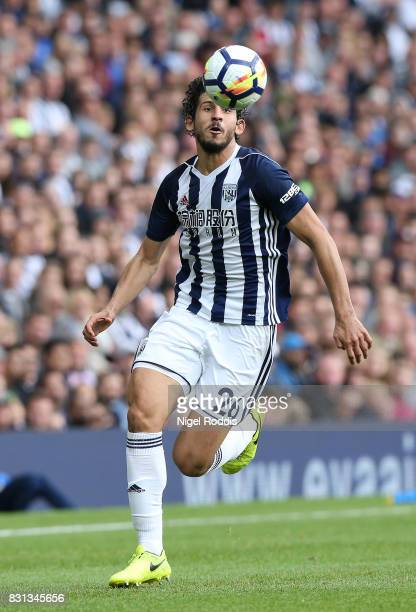 Ahmed Hegazi of West Bromwich Albion during the Premier League match between West Bromwich Albion and AFC Bournemouth at The Hawthorns on August 12...
