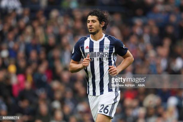 Ahmed Hegazy of West Bromwich Albion during the Premier League match between West Bromwich Albion and Watford at The Hawthorns on September 30 2017...