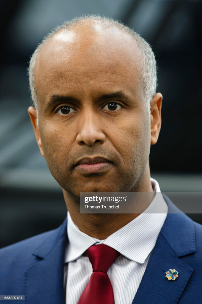 Ahmed Hussen, Minister of Immigration, Refugees, and Citizenship of Canada on March 14, 2017 in Berlin, Germany.