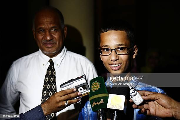 Ahmed Mohamed a 14yearold US Muslim teenager of Sudanese origin who became an overnight sensation after a Texas teacher mistook his homemade clock...