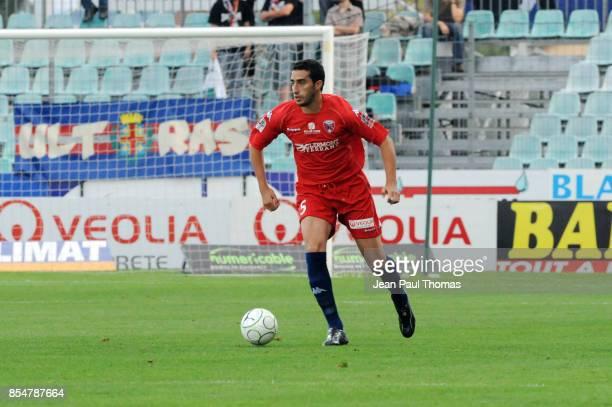 Ahmed Reda MADOUNI Clermont / Arles Avignon 1ere journee de Ligue 2 2009/2010 Stade Gabriel Montpied Clermont