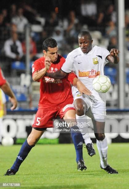 Ahmed Reda MADOUNI / Kaba DIAWARA Clermont / Arles Avignon 1ere journee de Ligue 2