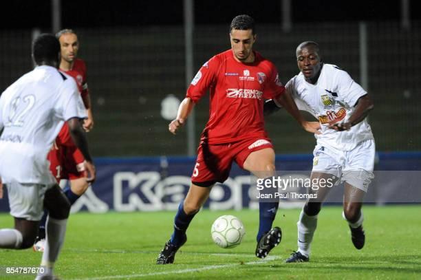 Ahmed Reda MADOUNI / Kaba DIAWARA Clermont / Arles Avignon 1ere journee de Ligue 2 2009/2010 Stade Gabriel Montpied Clermont