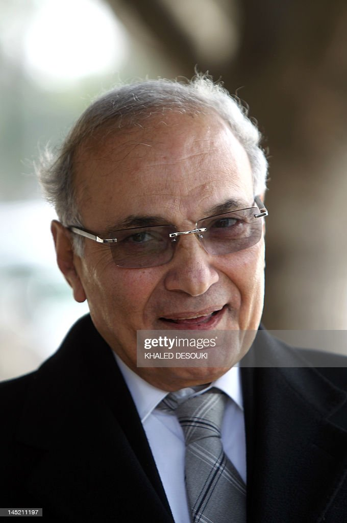 Ahmed Shafiq, the last prime minister to serve under Hosni Mubarak, arrives to register his candidacy for the presidential election in Cairo on March 10, 2012 as Egypt's presidential race kicked off.
