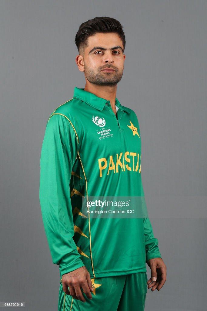 ICC Champions Trophy - Pakistan Portrait Session