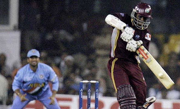 West Indies cricketer Shivnarine Chander : News Photo