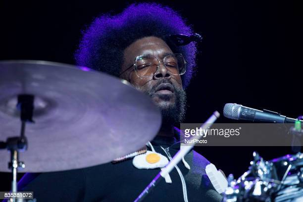 Ahmir quotQuestlovequot Thompson performed with The Roots at the MGM National Harbor in Oxon Hill MD on Sunday August 13 2017