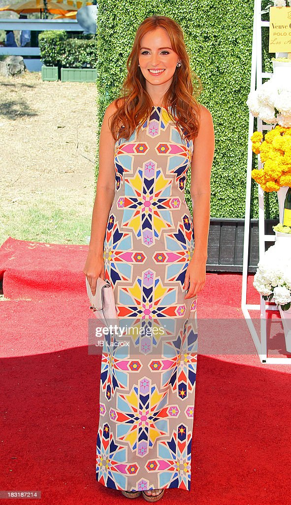 Ahna O'Reilly attends The Fourth-Annual Veuve Clicquot Polo Classic at Will Rogers State Historic Park on October 5, 2013 in Pacific Palisades, California.
