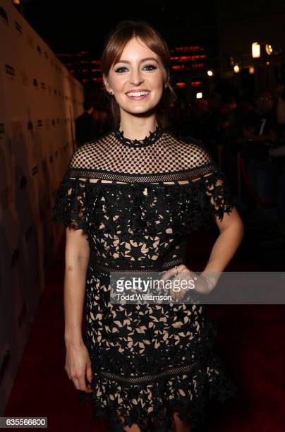 Ahna O'Reilly attends the premiere of Momentum Pictures' 'In Dubious Battle' at ArcLight Hollywood on February 15 2017 in Hollywood California