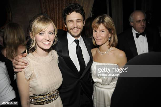 Ahna O'Reilly James Franco and Anna Scott Carter attend BLOOMBERG VANITY FAIR Cocktail Reception After the White House Correspondents' Dinner at The...