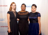 Ahna O'Reilly Octavia Spencer and Melonie Diaz arrive at the premiere of The Weinstein Company's 'Fruitvale Station' at The Grand Lake Theater on...
