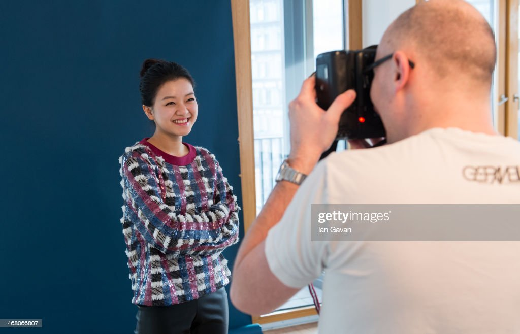 Ah-sung Ko poses during a portrait session for Contour Photographer Francois Berthier during the 64th Berlinale International Film Festival on February 8, 2014 in Berlin, Germany.