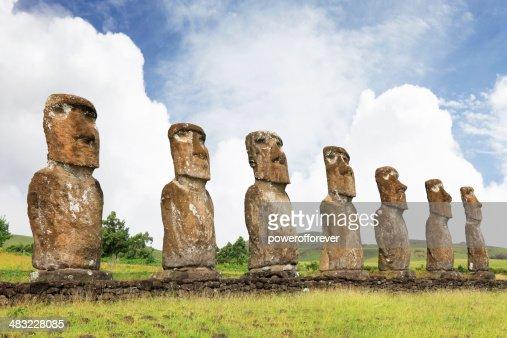 Ahu Akivi - Easter Island