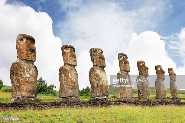 Ahu Akivi-Easter Island