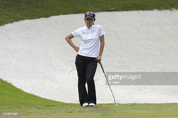 Ai Miyazato during the second round of the ADT Championship at the Trump International Golf Club in West Palm Beach Florida on Friday November 17 2006