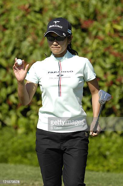 Ai Miyazato during the third round of the ADT Championship at the Trump International Golf Club in West Palm Beach Florida on Saturday November 18...