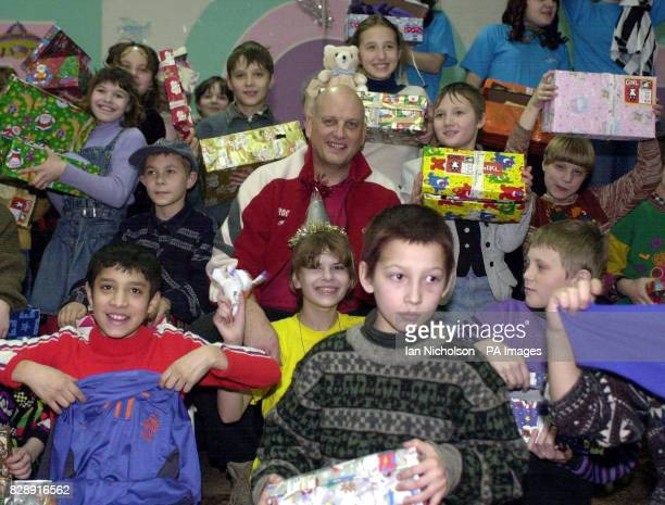 Aid worker and founder of Operation Christmas Child Dave Cook from Wrexham during a visit to an orphanage in Tula south of Moscow as part of...