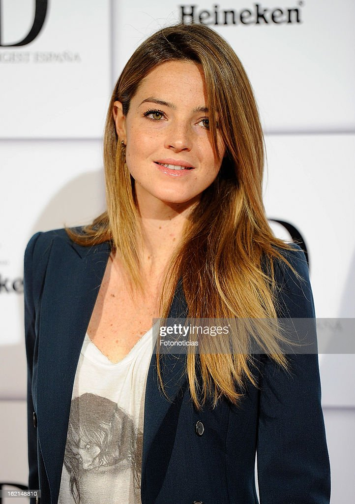 aida artiles attends ad awards at the casino de madrid on february