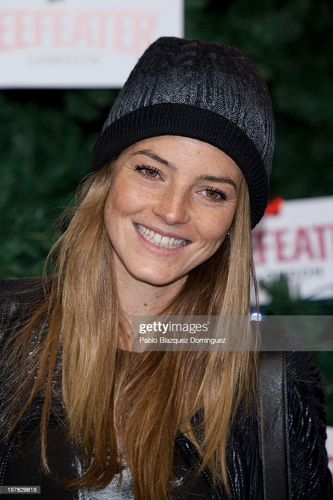 Aida Artiles attends Beefeater London Market at Cibeles Palace on December 6, 2012 in Madrid, Spain.