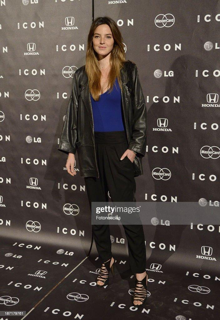 Aida Artiles attends 'Icon' magazine launch party at the Circulo de Bellas Artes on November 6, 2013 in Madrid, Spain.