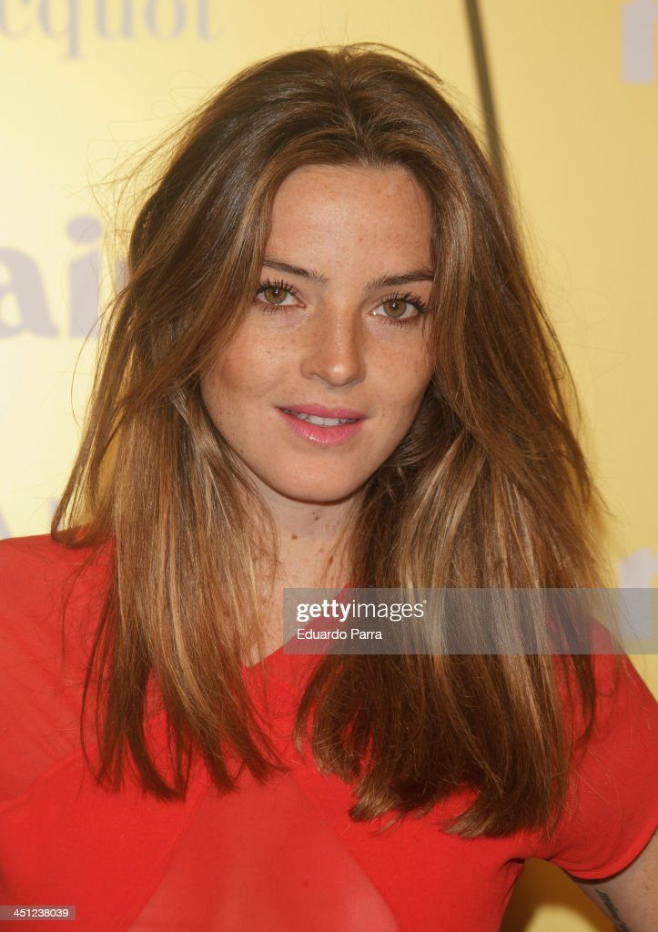 Aida Artiles attends 'Marie Claire Prix de la moda' awards 2013 photocall at Residence of France on November 21, 2013 in Madrid, Spain.