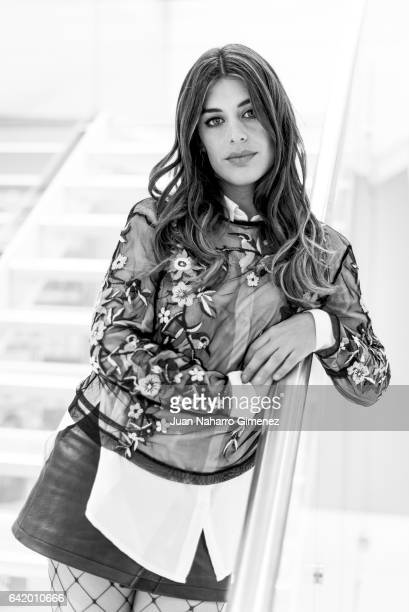 Aida Domenech aka Dulceida poses during a portrait session on February 14 2017 in Madrid Spain