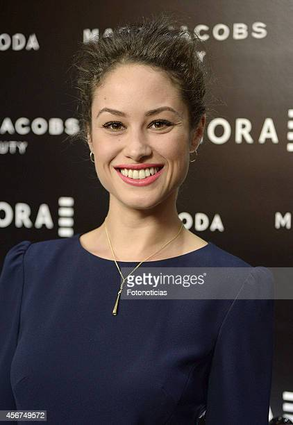 Aida Folch attends 'Sephora Loves Marc Jacobs' party at Sephora store on October 6 2014 in Madrid Spain