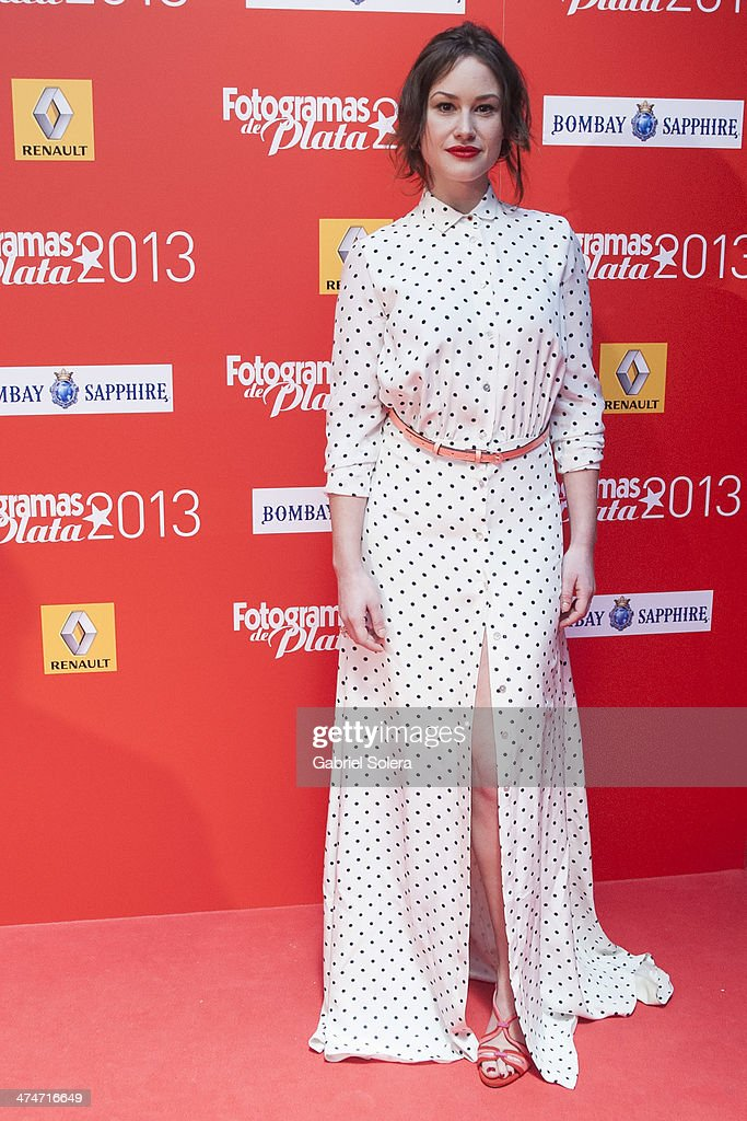 Aida Folch attends the 'Fotogramas Awards' 2013 at Joy Slava on February 24 2014 in Madrid Spain