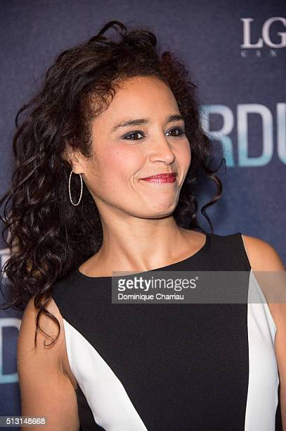 Aida Touihri attends the 'Eperdument' Paris Premiere at Cinema UGC Normandie on February 29 2016 in Paris France