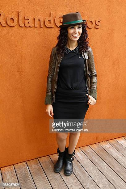 Aida Touihri attends the French Tennis Open Day Fourteen at Roland Garros on June 4 2016 in Paris France