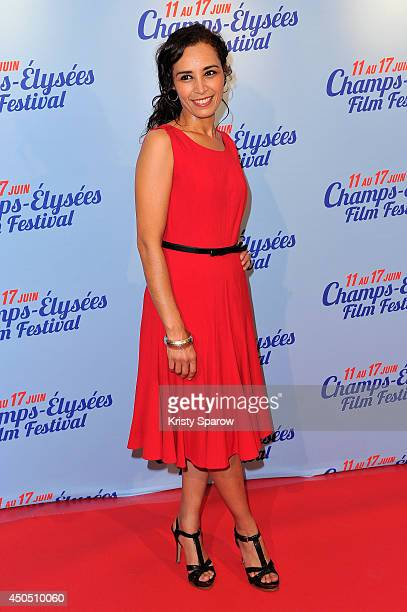Aida Touihri attends the Hippocrate Paris Premiere during Day 2 of the Champs Elysees Film Festival on June 12 2014 in Paris France