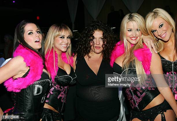 Aida Turturro and Pussycat Dolls during The Comedy Festival Celebrity Poker Tournament at PURE Nightclub at Caesars Palace in Las Vegas Nevada United...
