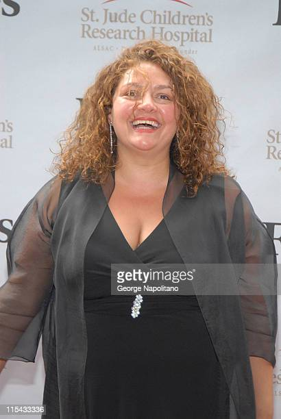 Aida Turturro at a 'Sopranos' benefit at Pier 60 at Chelsea Piers in New York City for the St Jude Children's Research Hospital